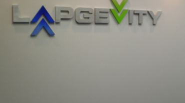 A finished wall at Lapgevity