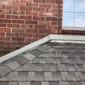 heat damage to roof, cracked shingles