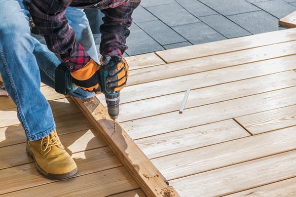 Repairing a deck