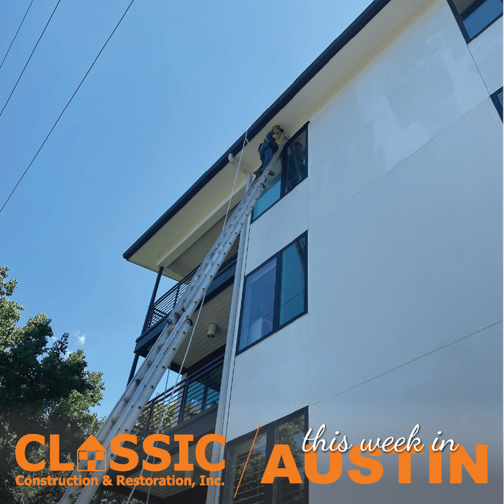 Classic Construction Project in Austin