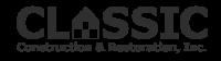 Classic Construction & Restoration Inc
